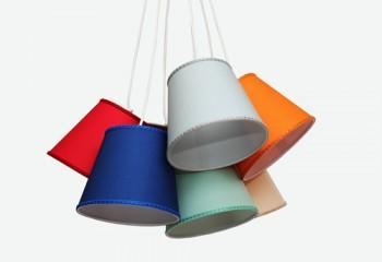 sospensione multicolore